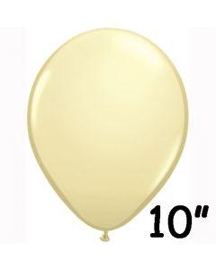 Elfenben ballon 1 stk. - 26 cm.