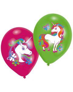 Balloner med enhjørning