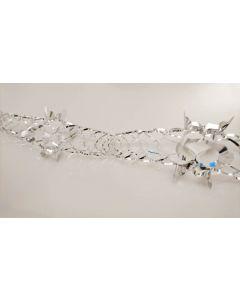 Guirlande i sølv 3 meter