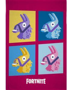 Fleecetæppe med Fortnite
