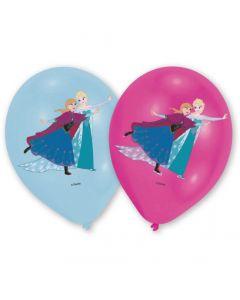 Frost balloner med Anna og Elsa