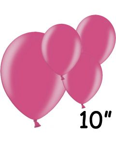 """Fuchsia balloner 10"""" - 100 stk."""