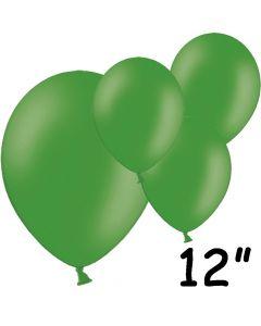 """Grønne balloner 12"""" - 100 stk."""