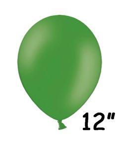 "Grøn ballon 12"" - 1 stk."