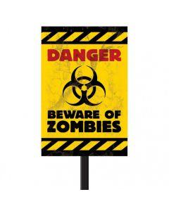 Halloween advarselsskilt