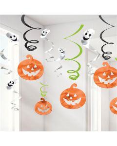 Halloween hænge dekorationer - 12 dele