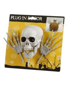 Halloween kranie og hænder