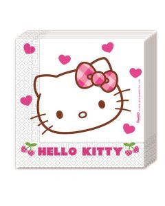 Hello Kitty servietter 20 stk.