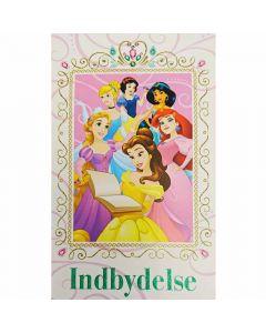 Disney Prinsesser indbydelser