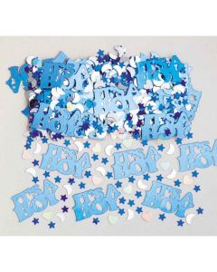 It´s a Boy konfetti - Metal folie -14 g.