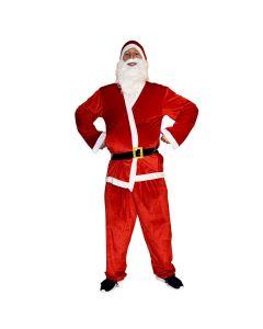 Komplet julemands kostume