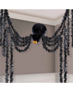Honeycomp Halloween edderkop