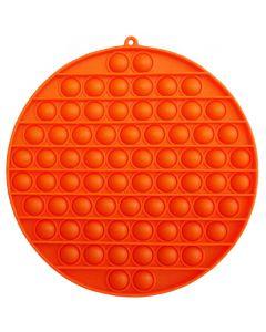 Kæmpe rund Pop It i orange