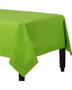 Kiwi grøn papirdug - 137 x 274 cm