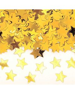 Konfetti guldstjerner