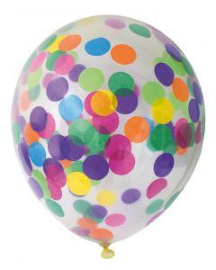 Konfetti balloner i blandede farver