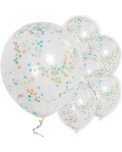 Konfetti balloner multifarvet