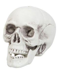 Halloween kranie i plast