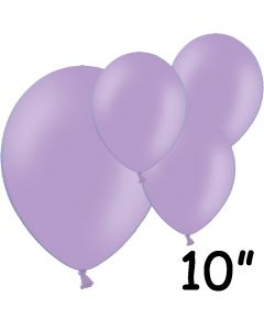 """Lavendel balloner 10"""" - 100 stk."""