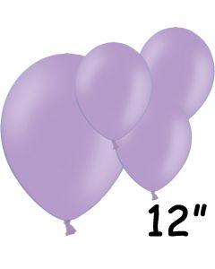 """Lavendel balloner 12"""" - 100 stk."""