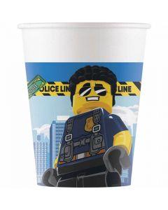 Papkrus med Lego City