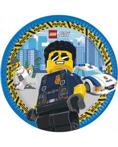 Paptallerkner med Lego City