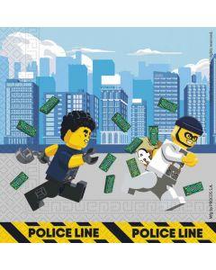 Servietter med Lego City