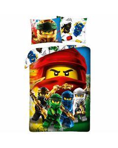 Sengetøj med Lego Ninjago