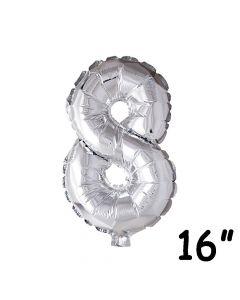 Folieballon nr. 8