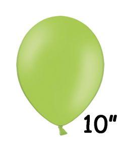 Limegrøn ballon 1 stk. - 26 cm.