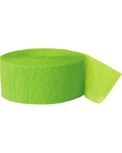 Crepebånd limegrøn 1 stk.