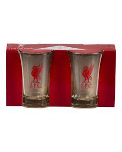 Shotglas Liverpool FC 2 stk.
