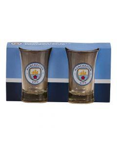 Manchester City shotglas