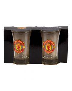 Shotglas Manchester United  2 stk.