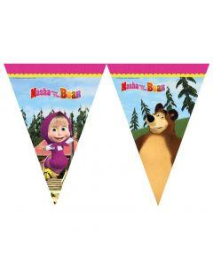 Masha og Bjørnen vimpel banner 2,3 meter