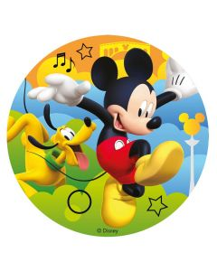 Mickey Mouse sukkerprint uden sukker
