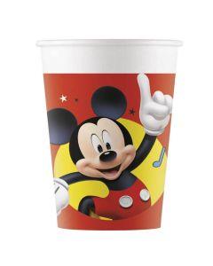 Mickey Mouse papkrus 8 stk.