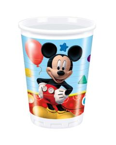 Mickey Mouse Clubhouse plastikkrus 8 stk.