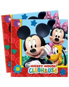 Mickey Mouse Clubhouse servietter 20 stk.