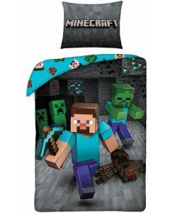 Sengetøj sæt med Minecraft