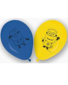 Minions balloner 6 stk.
