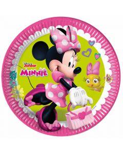 Paptallerkner med Minnie Mouse