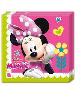 Servietter med Minnie Mouse