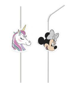 Minnie Mouse sugerør