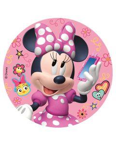 Sukkerprint med Minnie Mouse