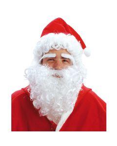 Julemandsskæg, hue og hår