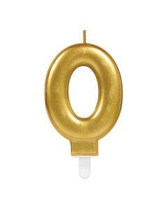 Nummerlys nr. 0 - Guld