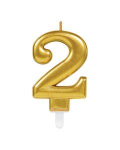 Nummerlys nr. 2 - Guld