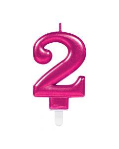 Nummerlys nr. 2 - Pink