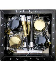 Nytårs kit i guld og sort